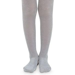 NWT Jefferies Socks Silver Sparkle Tights